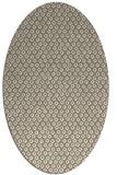 rug #289237 | oval white rug