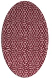 rug #289309 | oval pink popular rug