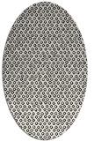 rug #289369 | oval white animal rug