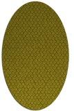 rug #289417 | oval light-green animal rug
