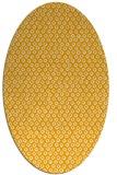 rug #289433 | oval light-orange animal rug