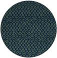 rug #289837 | round blue animal rug