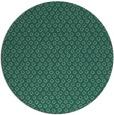 rug #289857 | round blue-green animal rug