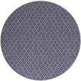 rug #289889   round blue-violet rug
