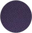 rug #289897 | round purple animal rug