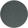 rug #289929   round blue-green animal rug