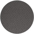 rug #289949 | round mid-brown rug