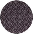 rug #290037 | round purple animal rug