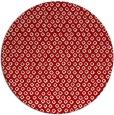 rug #290041 | round red animal rug