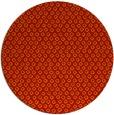 rug #290045 | round orange animal rug