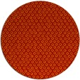 rug #290045 | round red animal rug