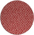 rug #290049 | round red animal rug