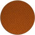 rug #290065 | round red-orange animal rug