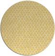 rug #290089 | round yellow animal rug