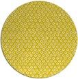 rug #290101 | round yellow animal rug