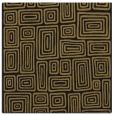 rug #292285 | square brown retro rug