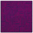 rug #292293 | square blue rug