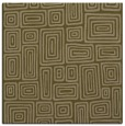 rug #292385 | square brown retro rug