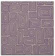 rug #292445 | square purple retro rug