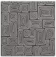 rug #292465 | square orange retro rug