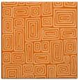 rug #292525   square red-orange retro rug