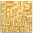 rug #292601 | square light-orange retro rug