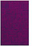 rug #292997    blue retro rug