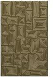 rug #293089 |  mid-brown retro rug