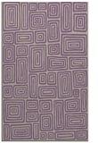 rug #293149    purple retro rug