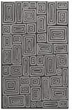 rug #293169 |  orange retro rug