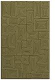 rug #293301 |  light-green retro rug