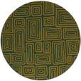 rug #293627   round retro rug