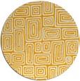 rug #293657   round light-orange retro rug