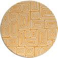rug #293668 | round retro rug