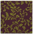 rug #294253 | square purple natural rug