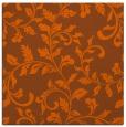 rug #294289 | square red-orange natural rug