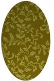 rug #294697 | oval light-green rug