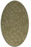 rug #294701 | oval light-green rug