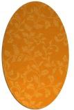 rug #294721   oval light-orange popular rug