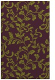 rug #294957 |  purple natural rug