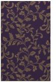 rug #294961    purple popular rug