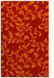 rug #294973 |  orange natural rug