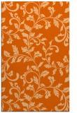 rug #294989 |  red-orange natural rug