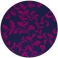 rug #295109   round pink natural rug
