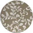 rug #295221 | round white natural rug