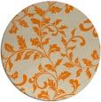 rug #295397   round beige natural rug