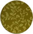 rug #295401 | round light-green natural rug