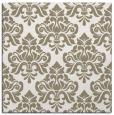 rug #295785   square white damask rug