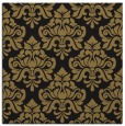 rug #295805 | square brown damask rug