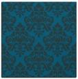 rug #295865 | square blue damask rug
